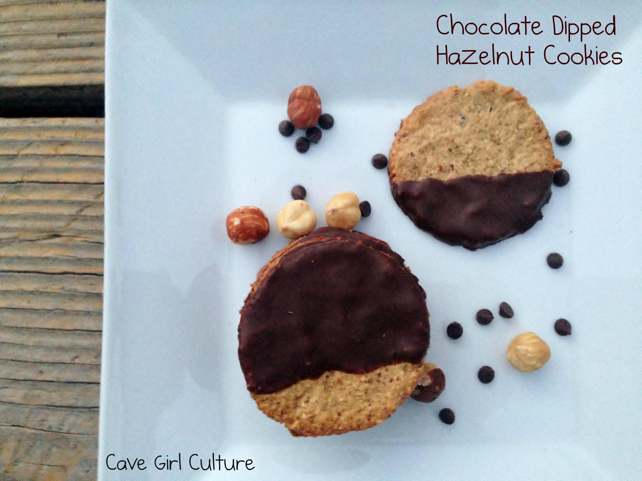 ... cookies with chocolate glazed hazelnut chocolate glazed hazelnut