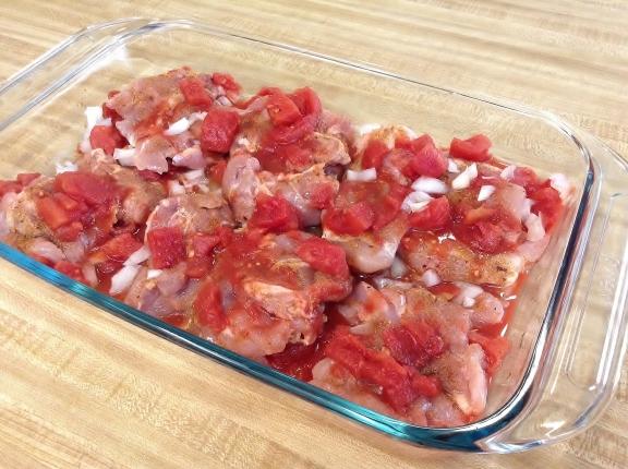 Cave Girl Culture - Pollo en Salsa de Tomate