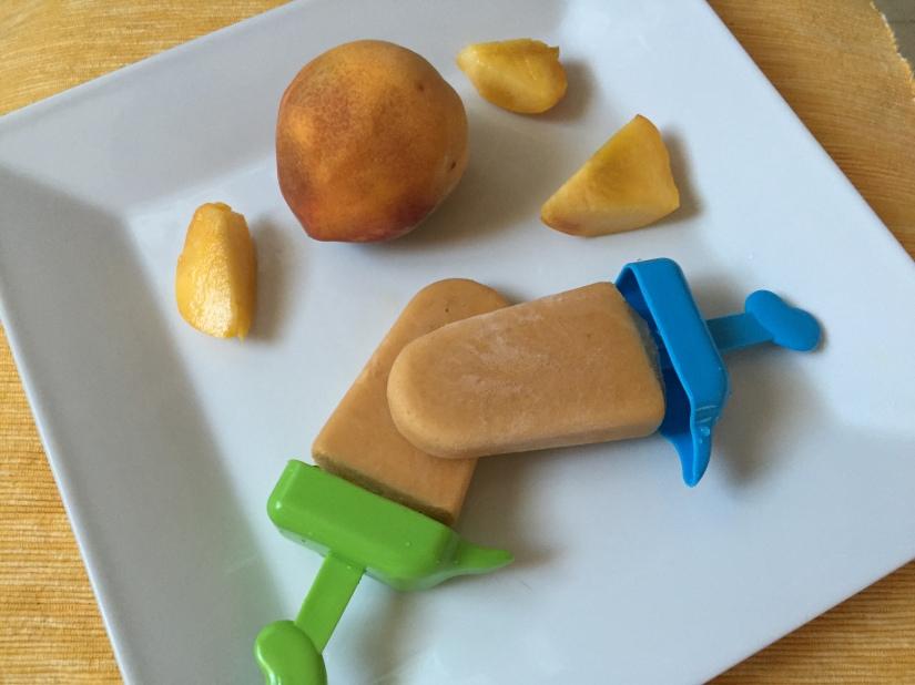 Dairy Free Peach & CoconutCreamsicles